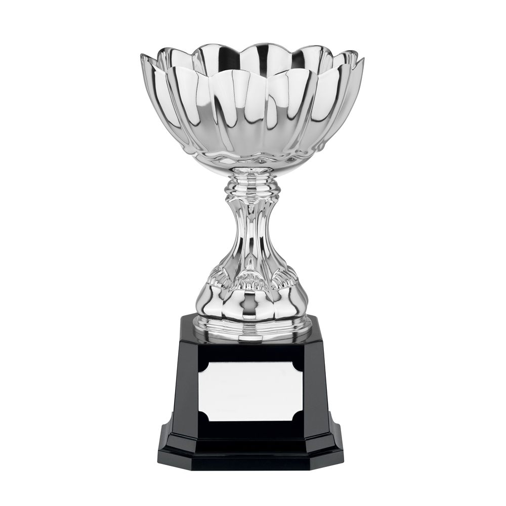 10 Inch Scalloped Edge Chalice Casalegno Trophy Cup