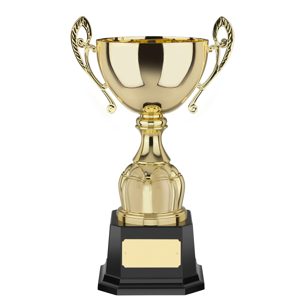 15 Inch Patterned Stem Casalegno Trophy Cup