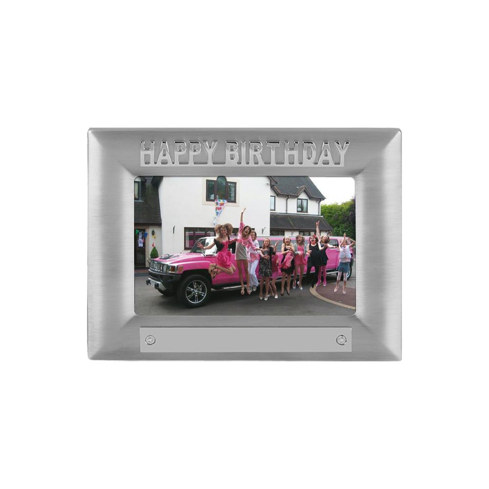 7 x 5 Inch Happy Birthday Birthday Jaunlet Photo Frame