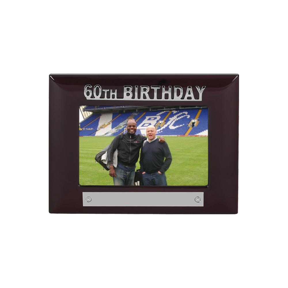 7 x 5 Inch 60Th Birthday Jaunlet Photo Frame