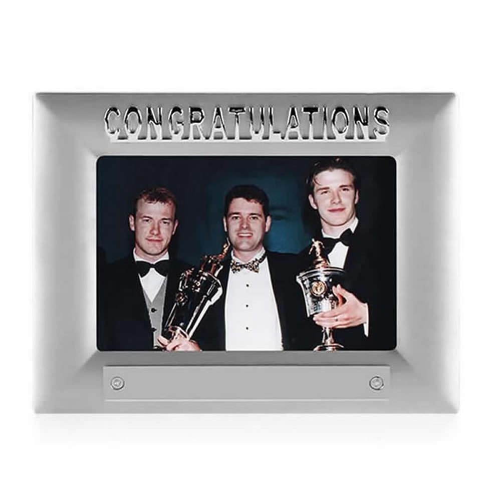 7 Inch Congratulations Photo Frame