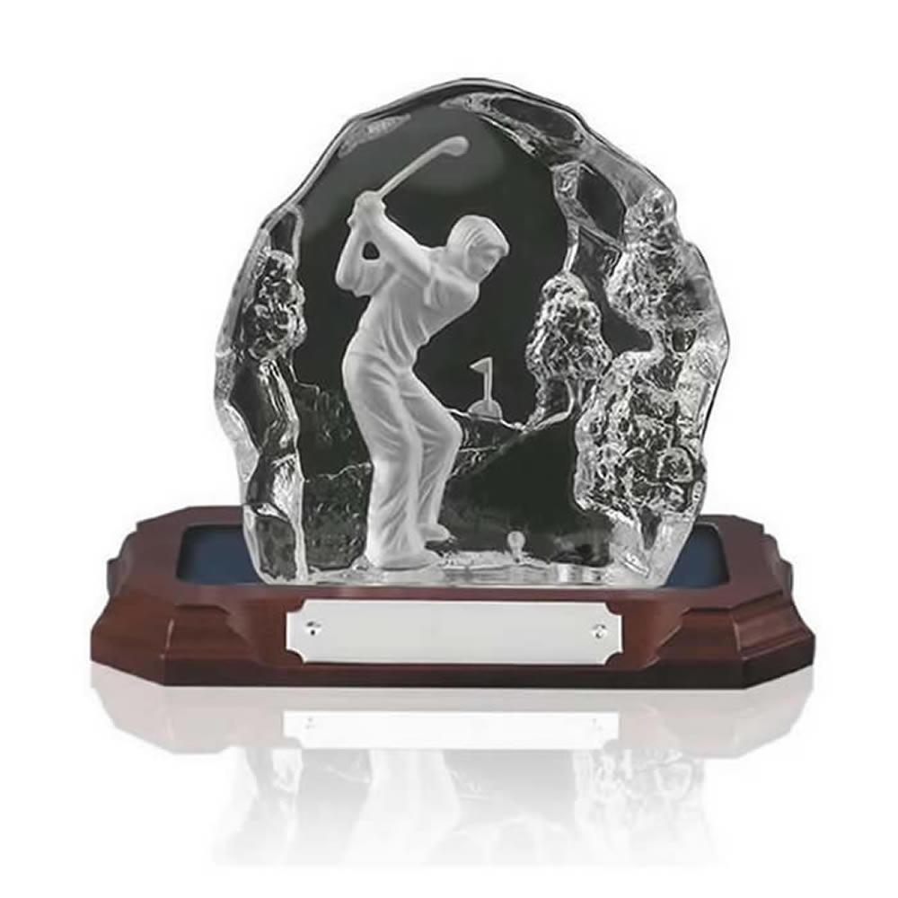 5 Inch Tee Shot Golf Amity Award