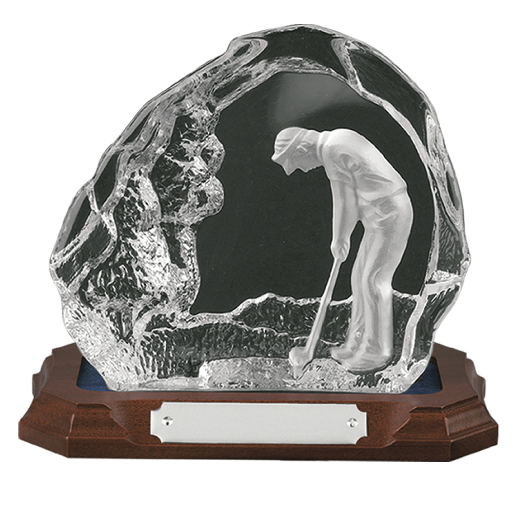 6 Inch Scene Golf Amity Award