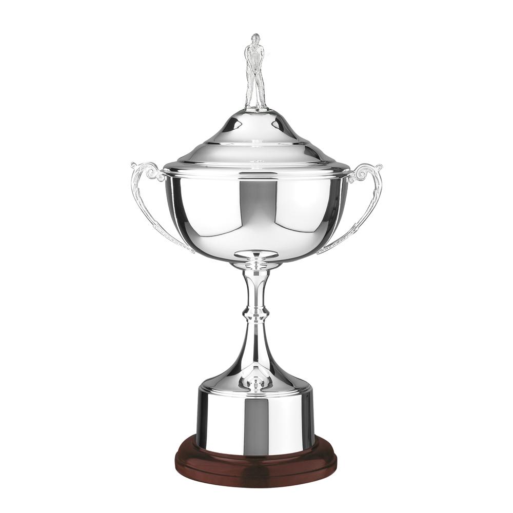 10 Inch Canterbury Wide Bowl Golf Canterbury Trophy Cup