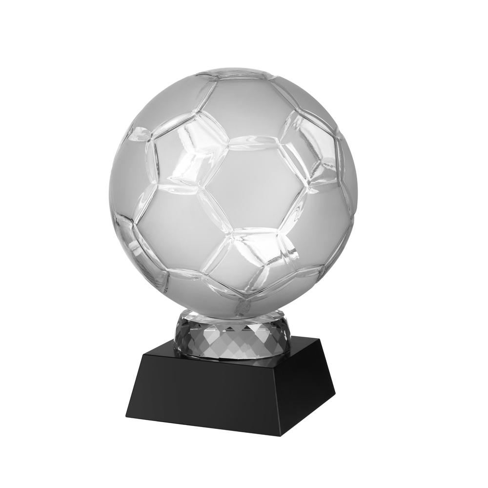 9 Inch Grand Football Football Crystal Award