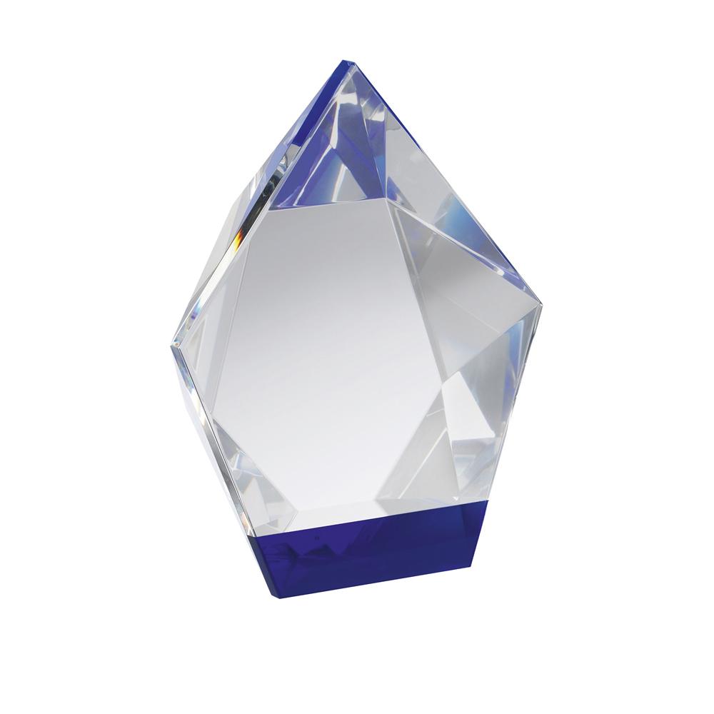 7 Inch Pentagon Crystal Award