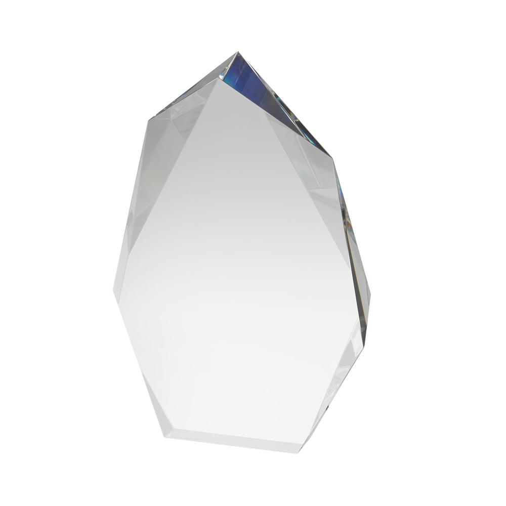 8 Inch Heavy Iceberg Crystal Award