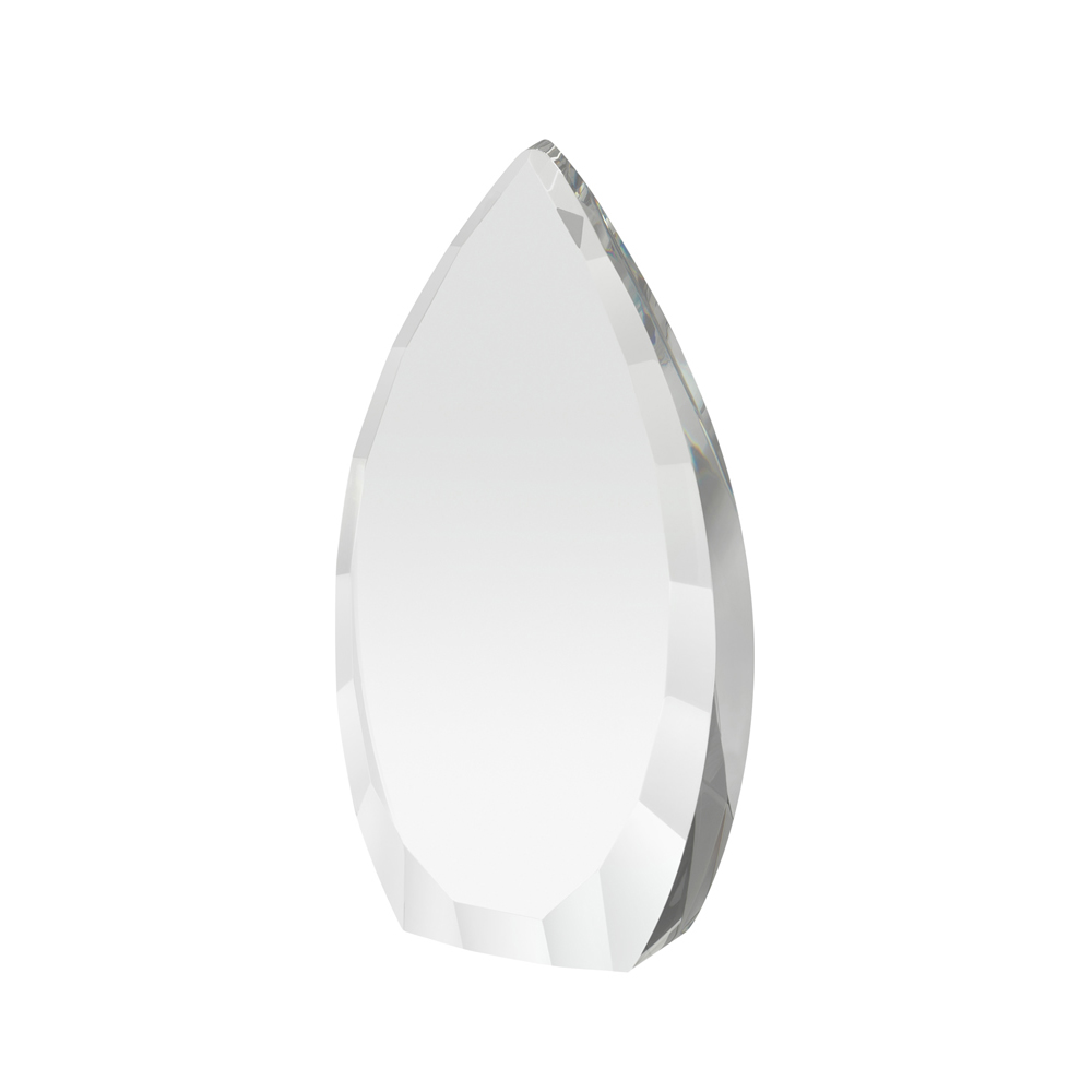 7 Inch Heavy Flame Crystal Award
