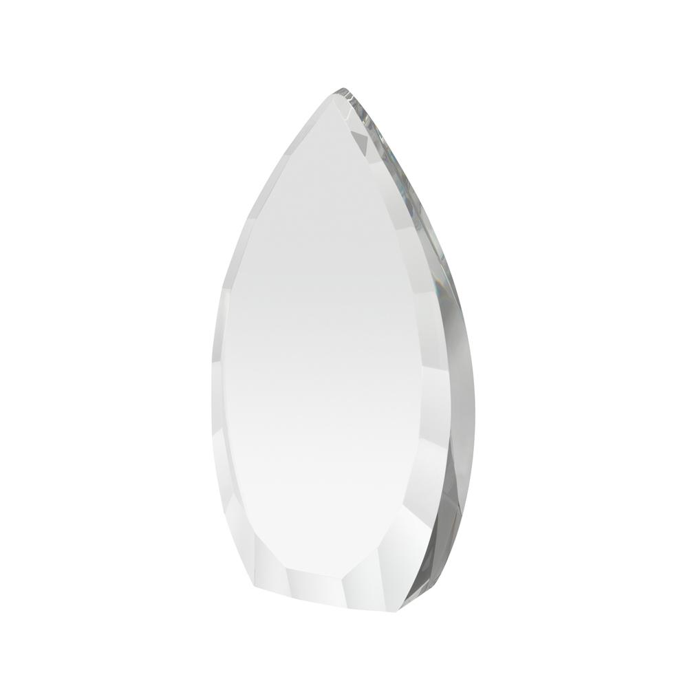 8 Inch Heavy Flame Crystal Award