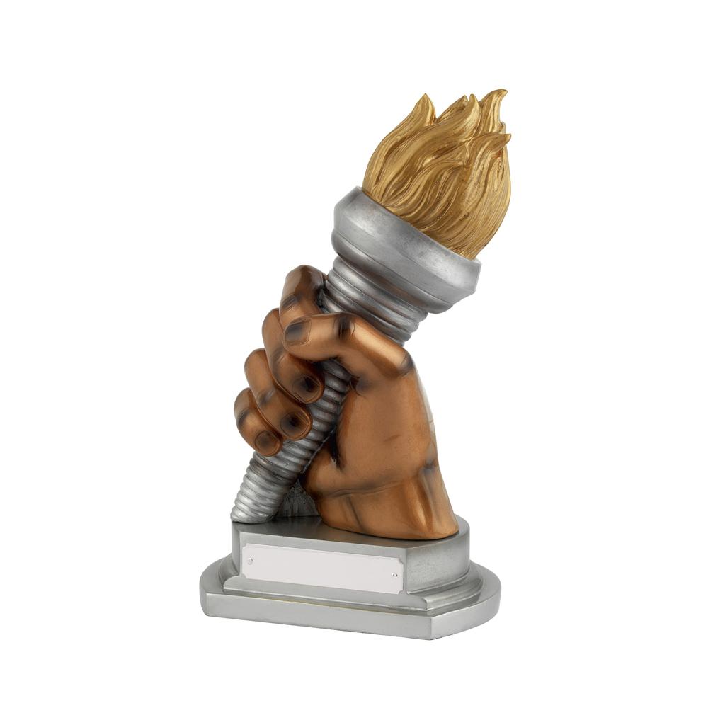 9 Inch Torch Bearer Golden Lion Award