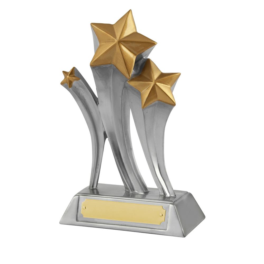 8 Inch Silver Triple Golden Lion Award
