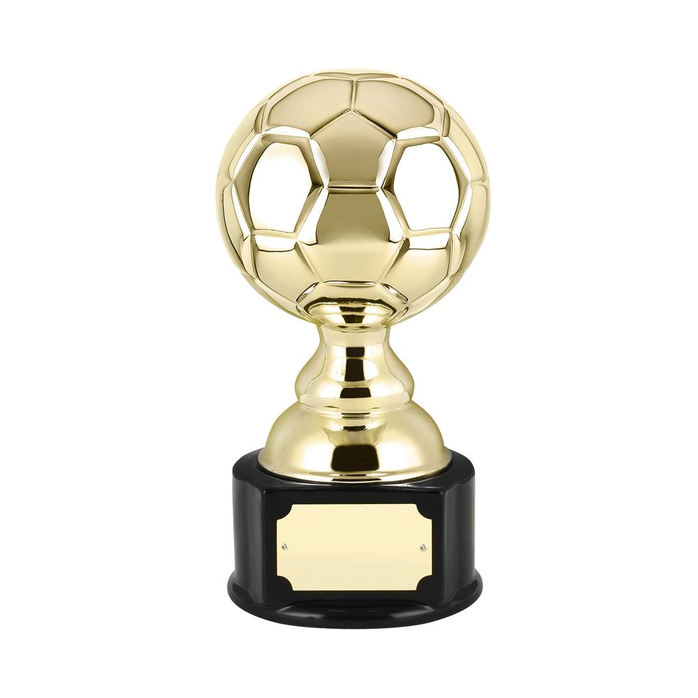 10 Inch Ceramic Football Golden Lion Award