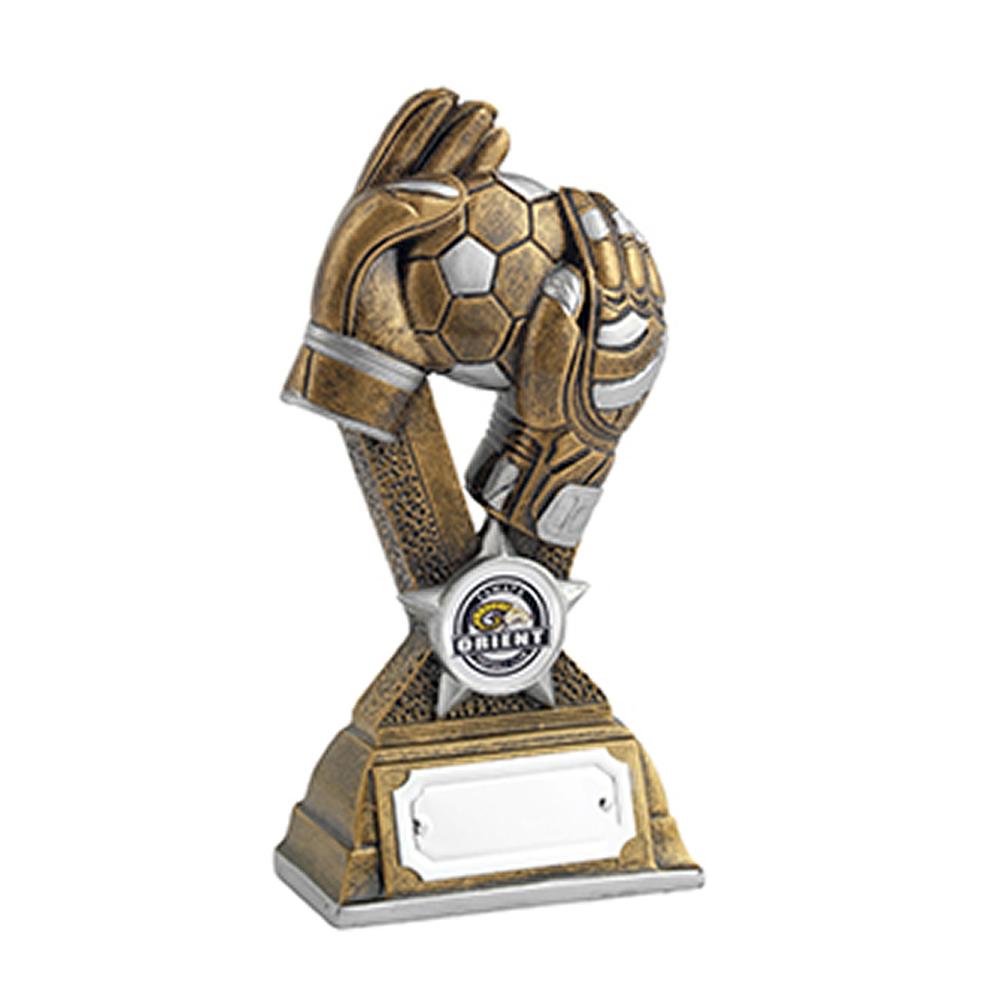 7 Inch Goal Keeper Football Golden Lion Award