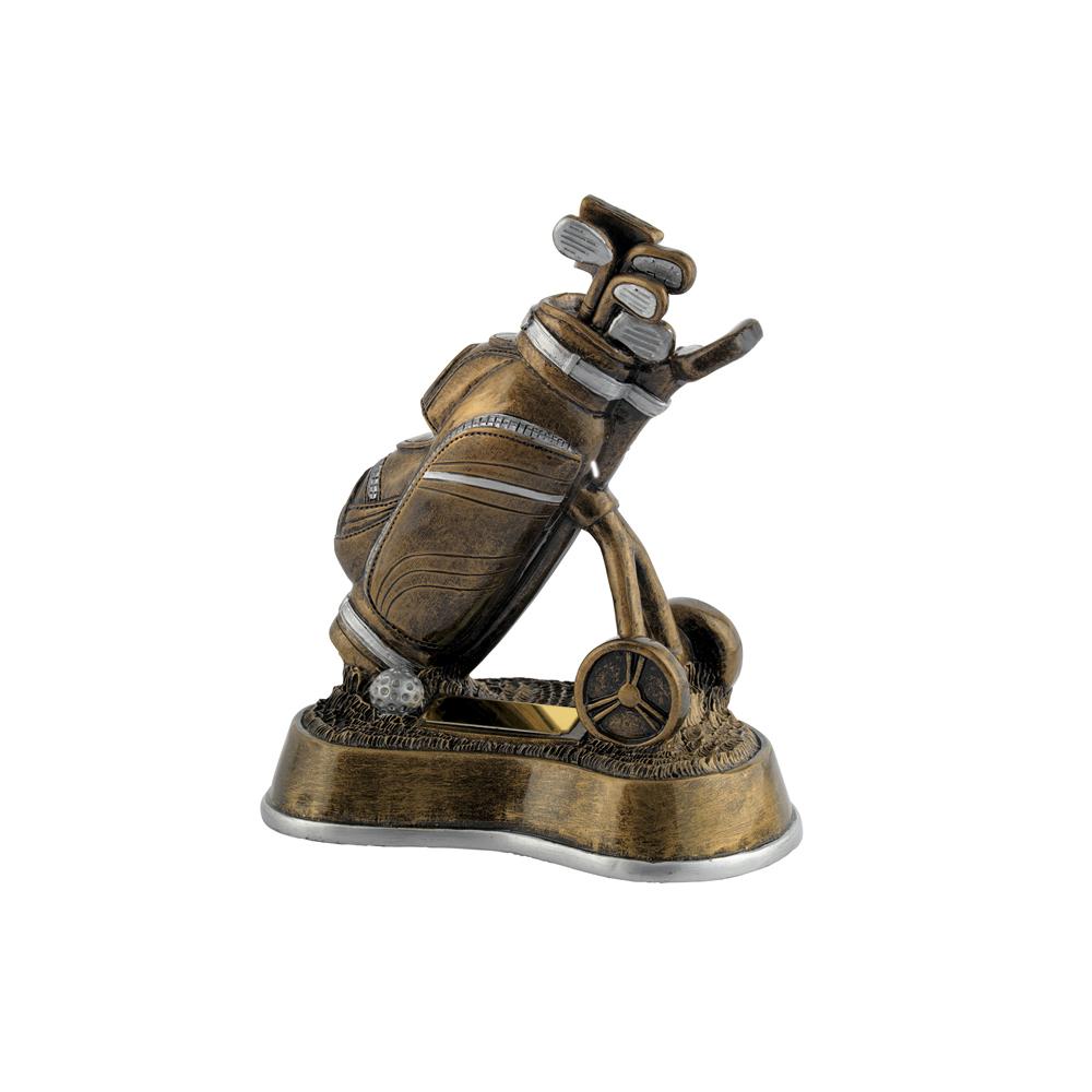 8 Inch Bag & Trolley Golf Golden Lion Award