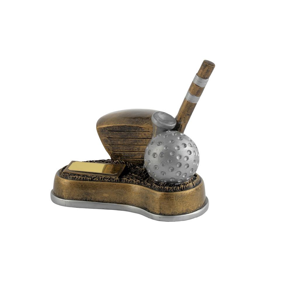 5 x 6 Inch Longest Drive Golf Golden Lion Award