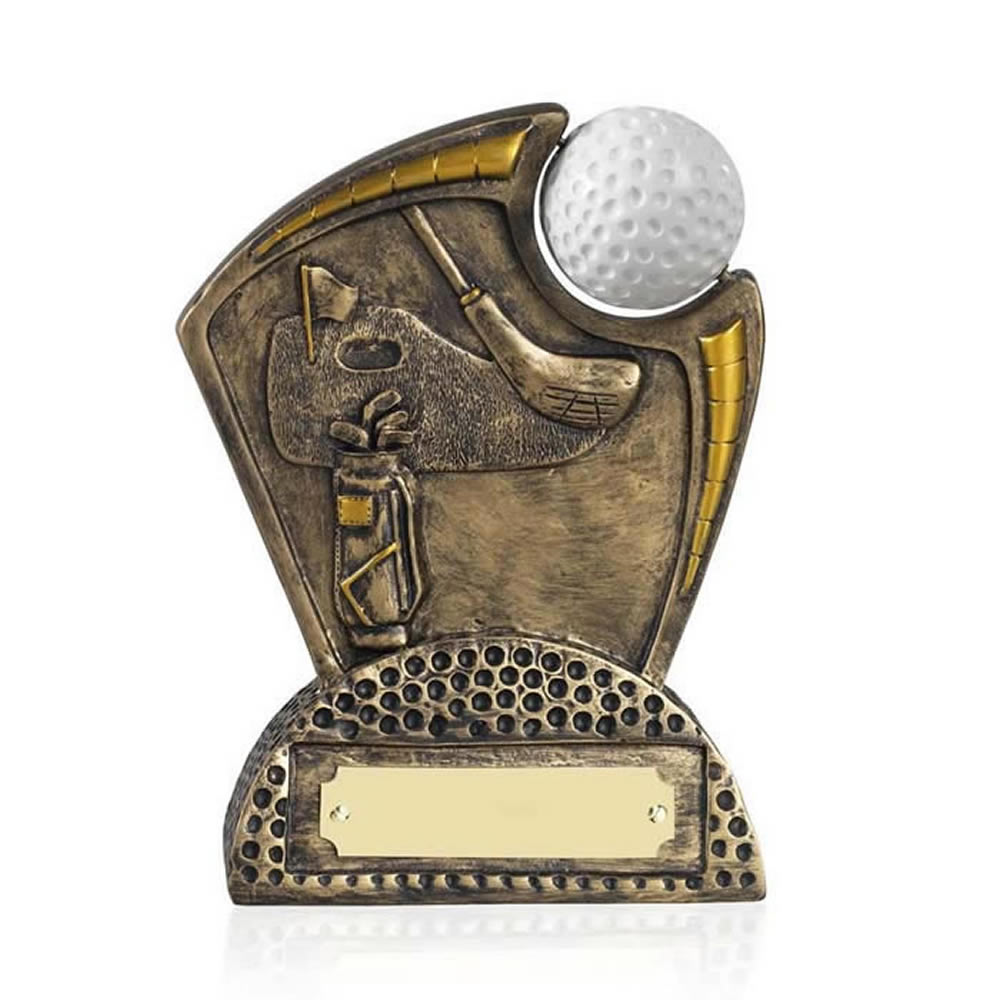 5 Inch Spinning Ball Golf Golden Lion Award