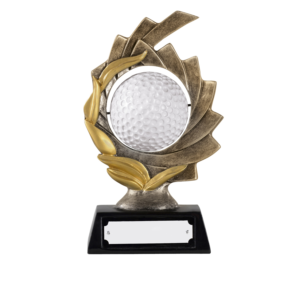 6 Inch Spinning Golf Ball Golf Golden Lion Award