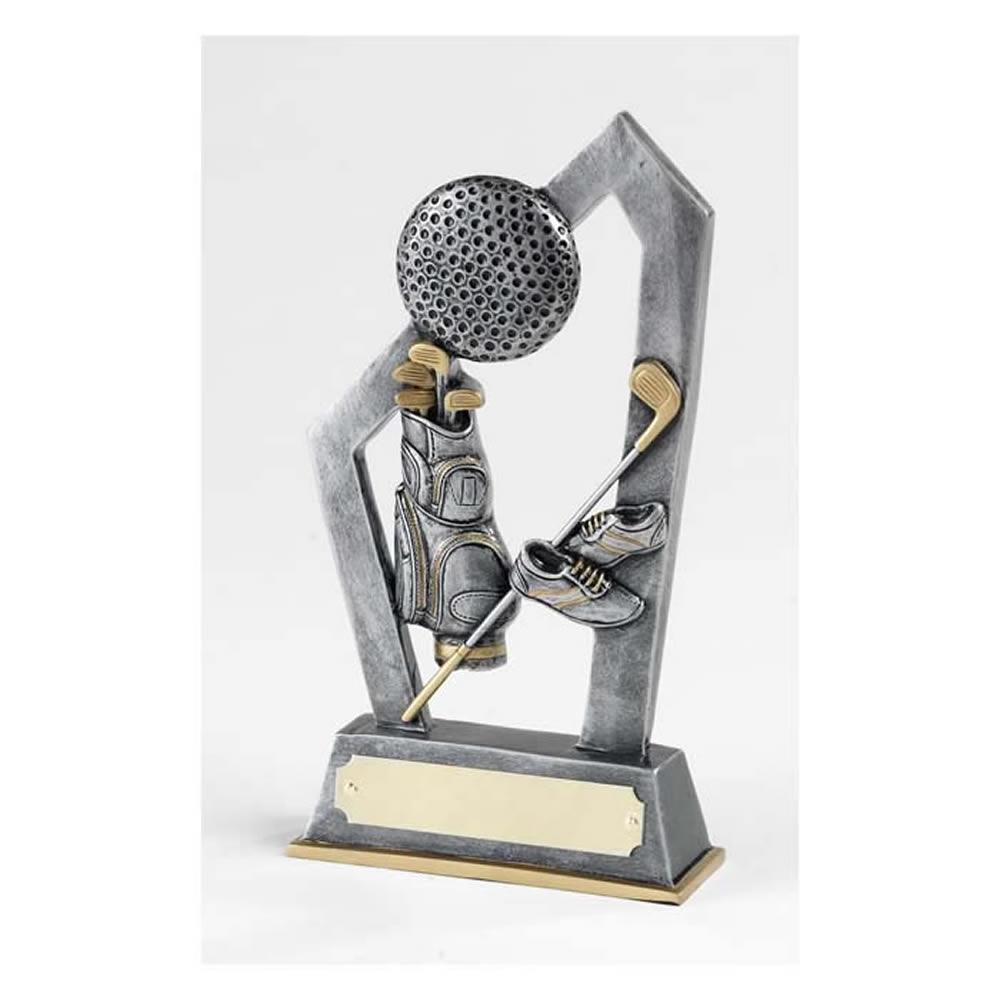 6 Inch Shoes, Clubs, Ball & Bag Golf Golden Lion Award