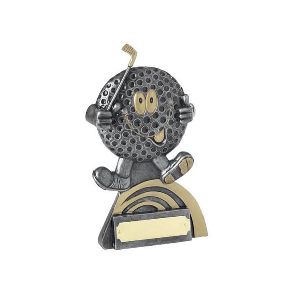 5 Inch Golf Ball Head Golf Golden Lion Award