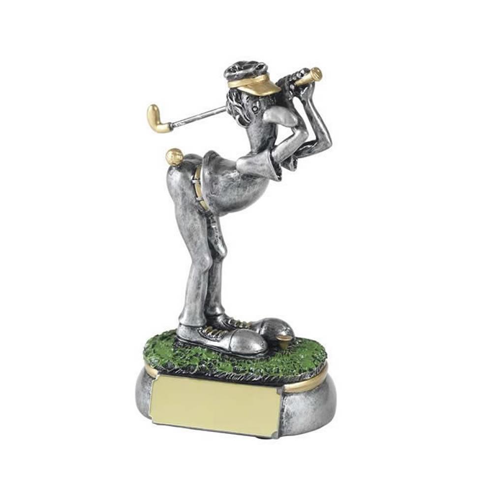5 Inch Cheeky Shot Golf Golden Lion Award