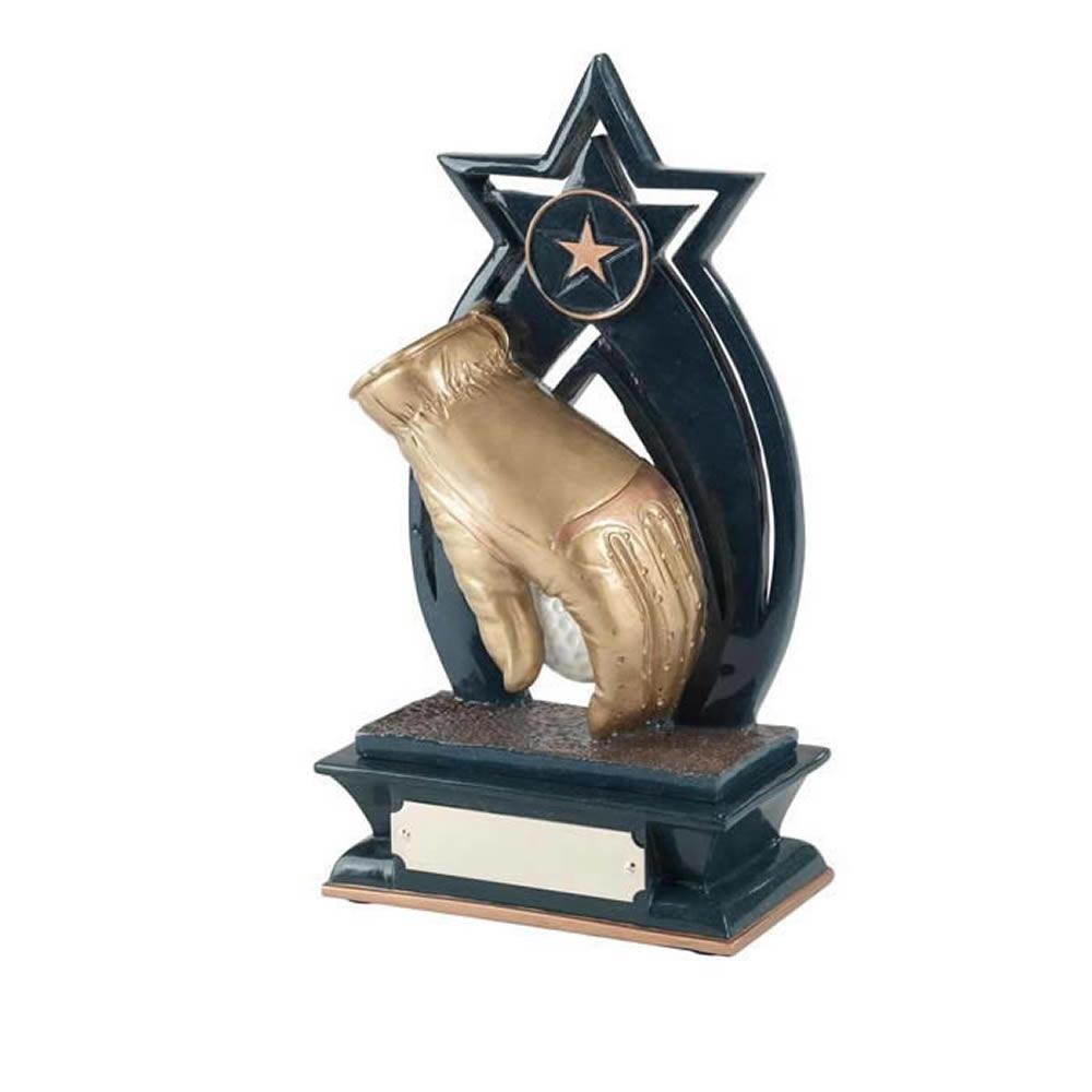 6 Inch Star Golf Golden Lion Award