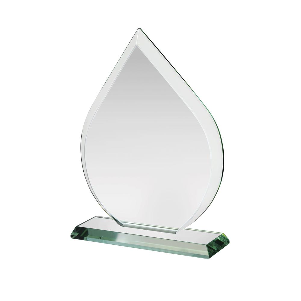 7 Inch Flaming Crystal Award