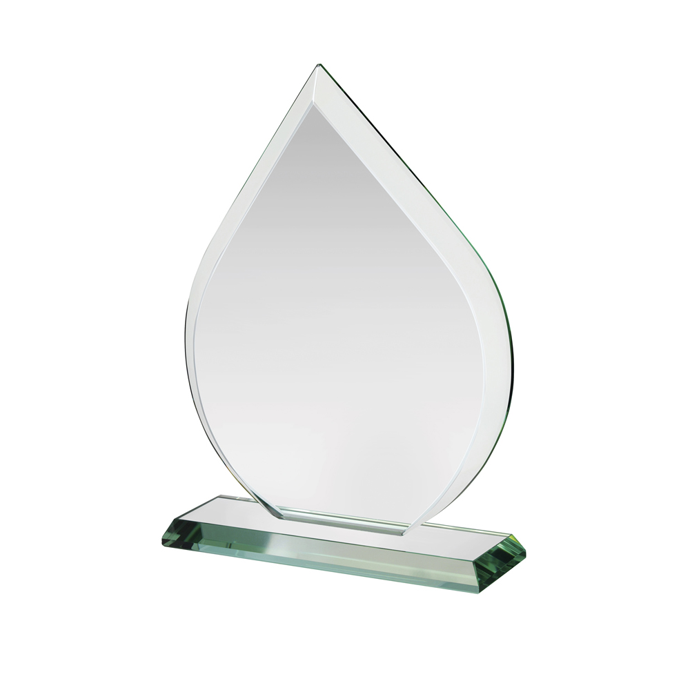 10 Inch Flaming Crystal Award