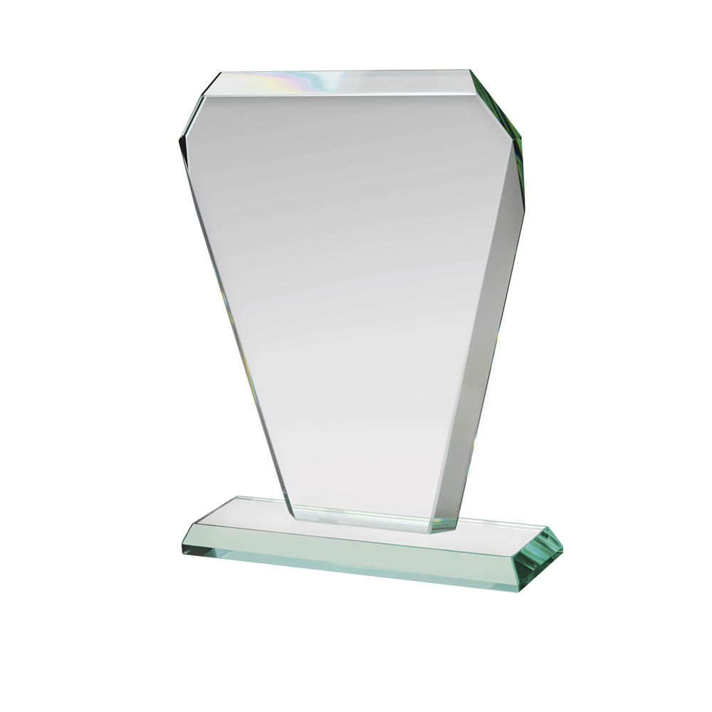9 Inch Quadrilateral Crystal Award