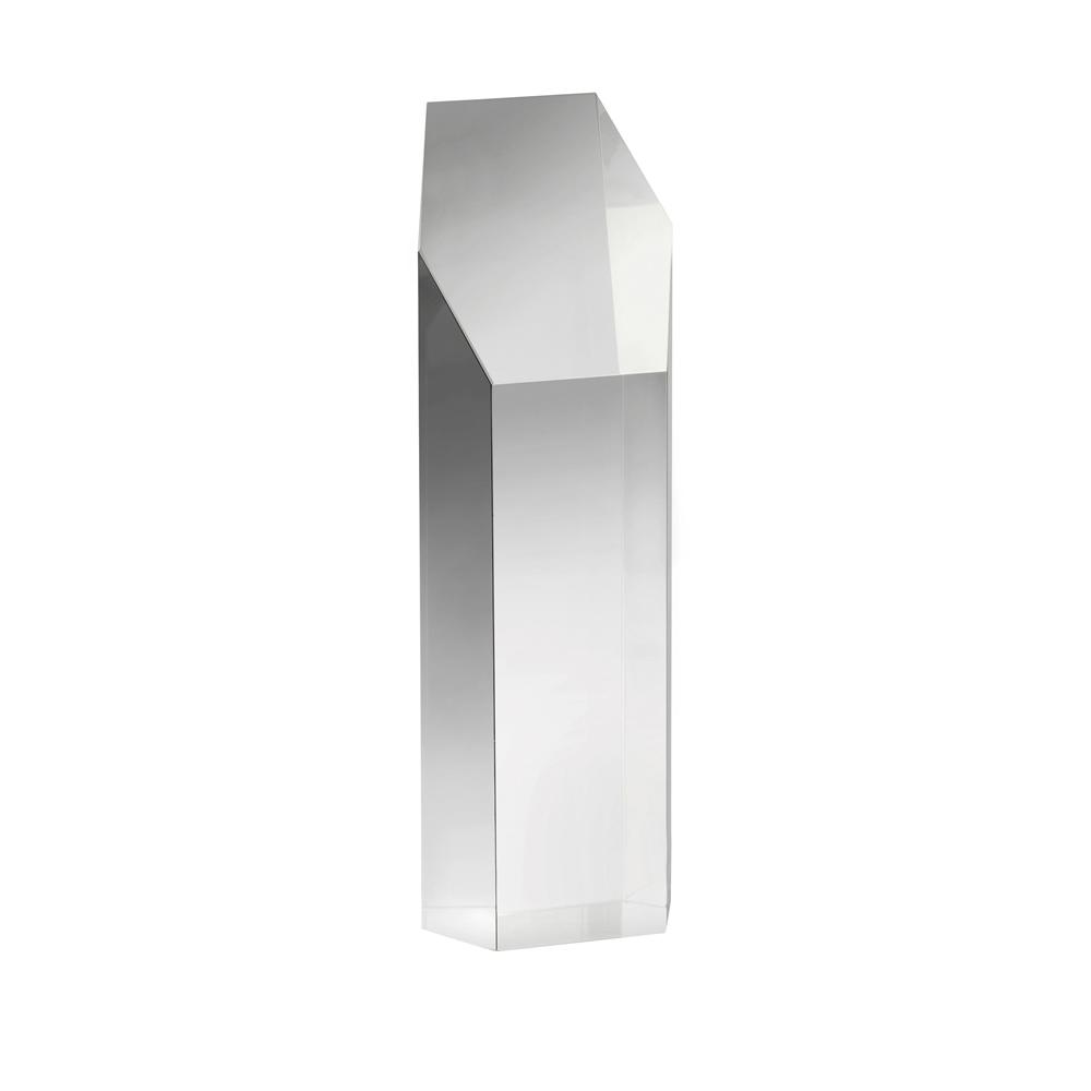 5 Inch Cuboid Crystal Award