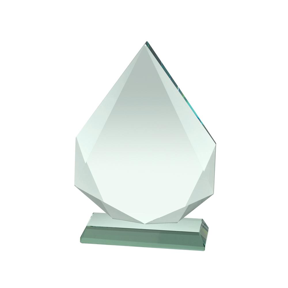 7 Inch Diamond Shape Crystal Award