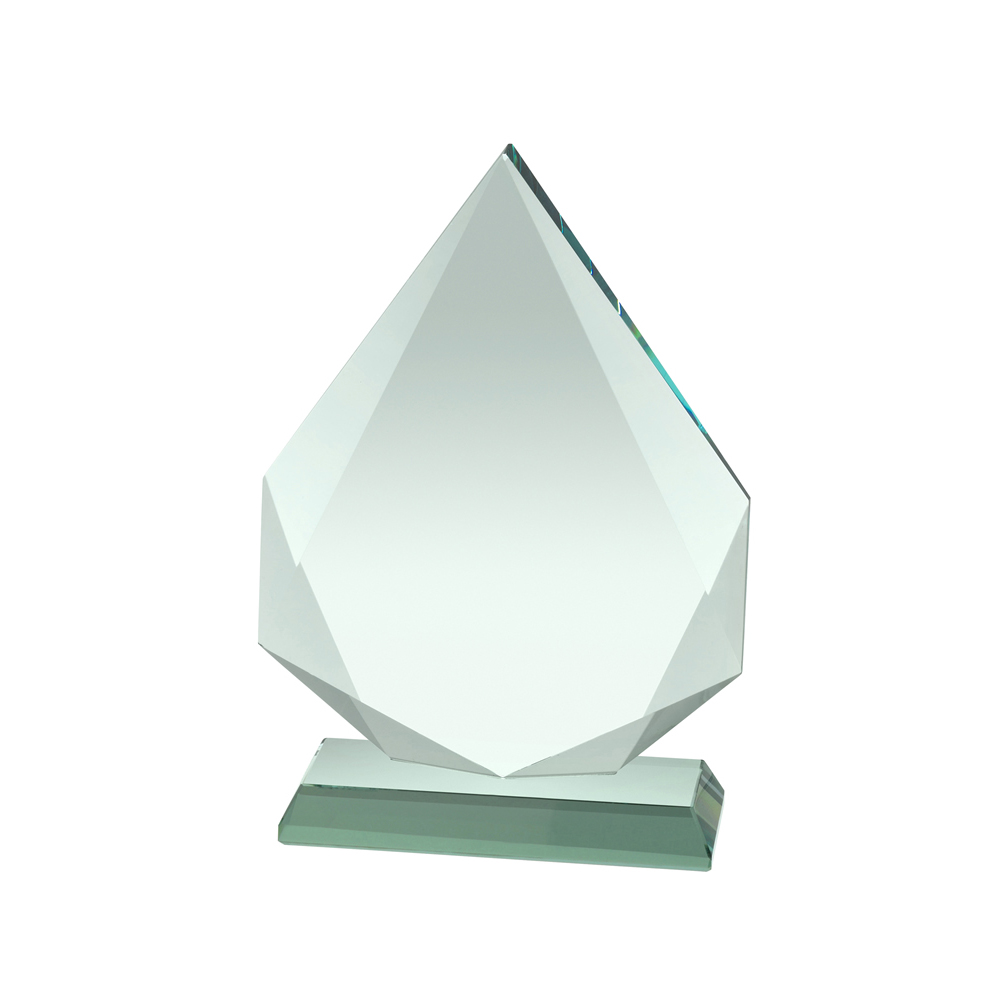 8 Inch Diamond Shape Crystal Award