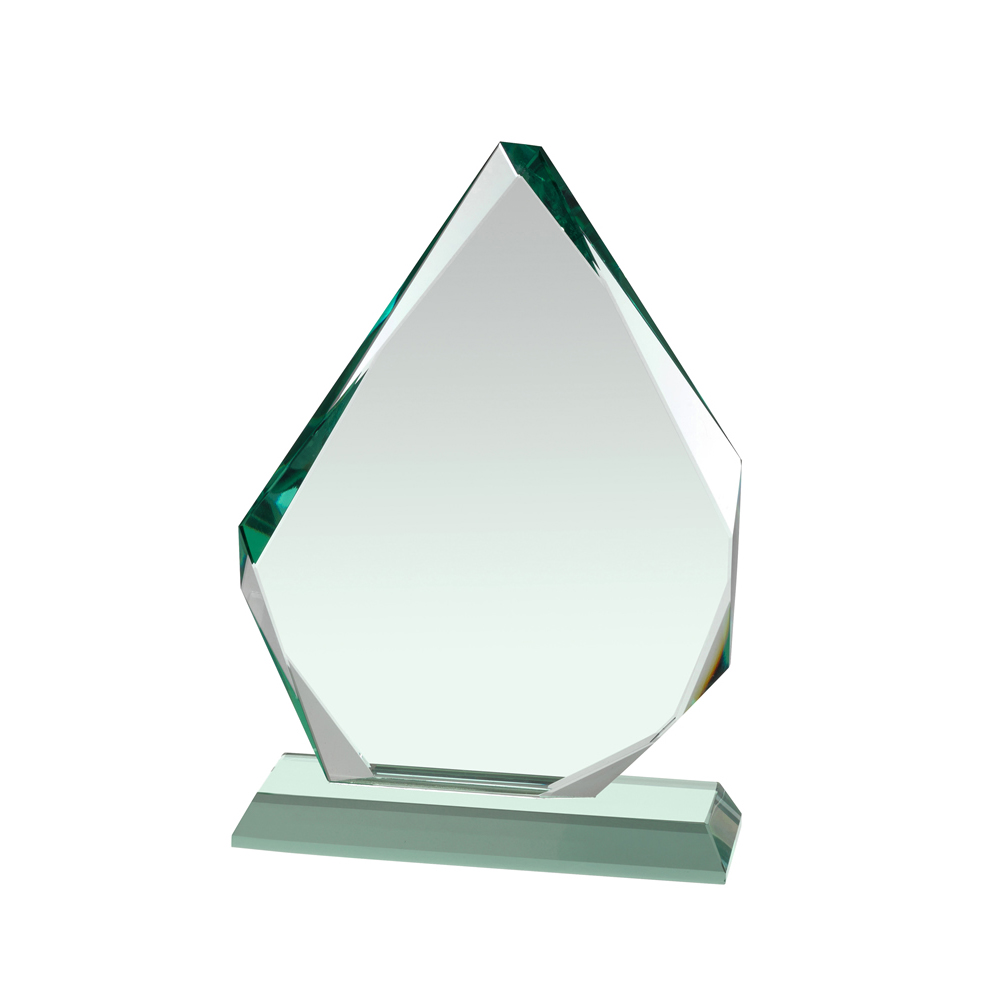 9 Inch Spear Point Crystal Award