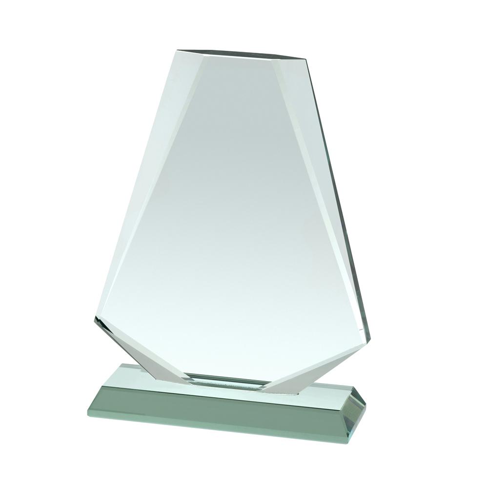 9 Inch Hexagonal Crystal Award