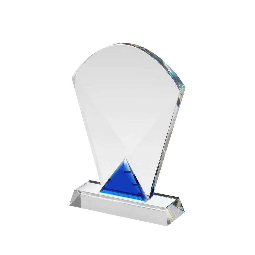 7 Inch Curved Top Crystal Award