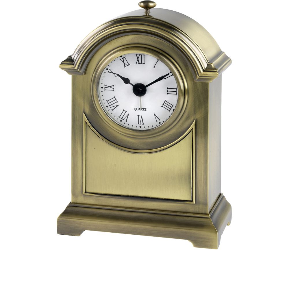 6 x 4 Inch Heavy Jaunlet Presentation Clock