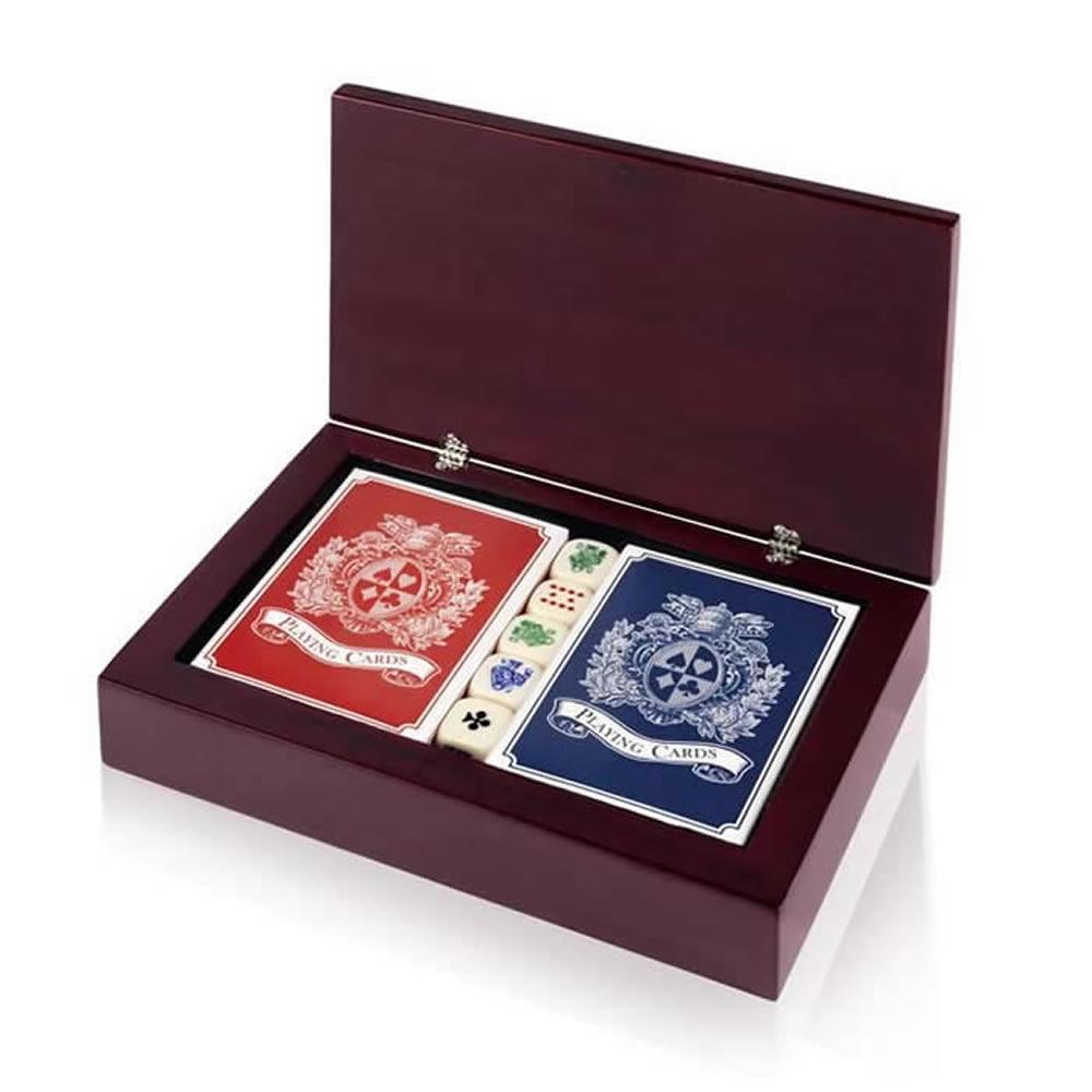 7 Inch Golf Box Poker Card Set
