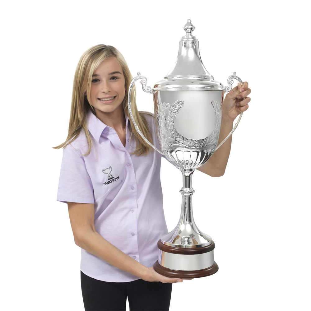32 Inch Floral Design Champions Ultimate Trophy Cup