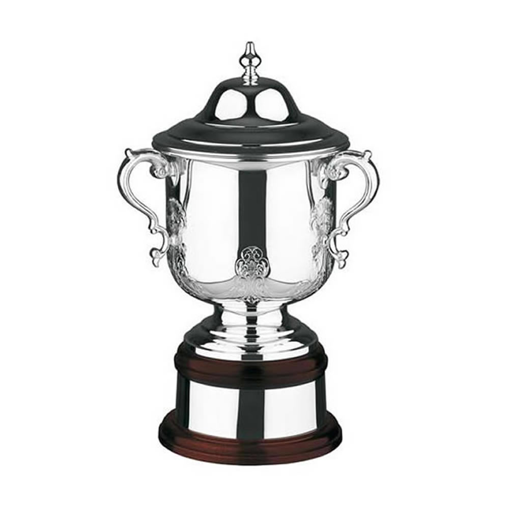 11 Inch Hand Chased Cask Ultimate Trophy Cup