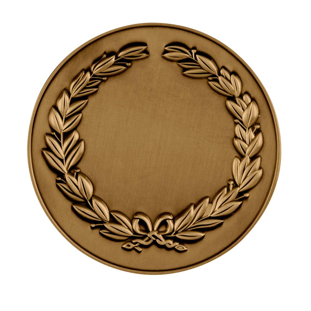 3 Inch Laurel Wreath Classic & Fresh Medal