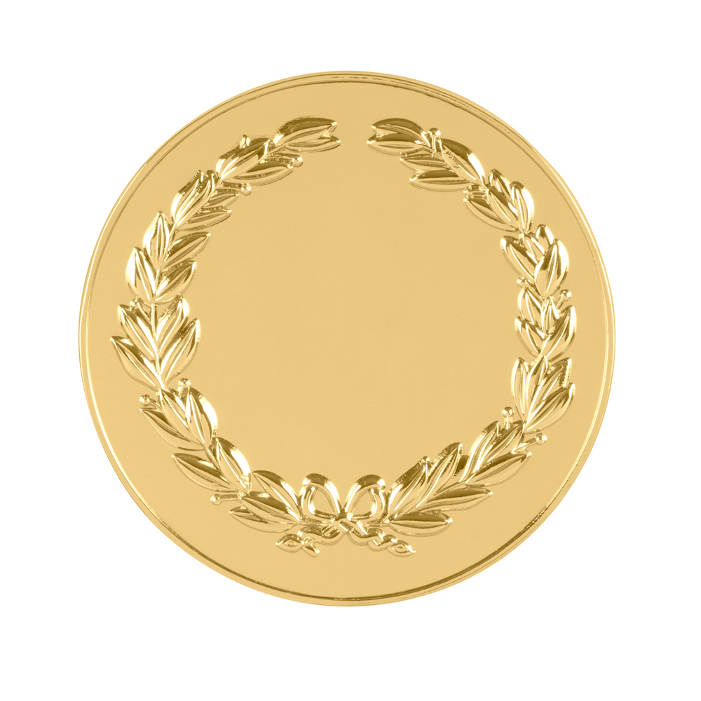 3 Inch Laurel Wreath Classic & Fresh Medal