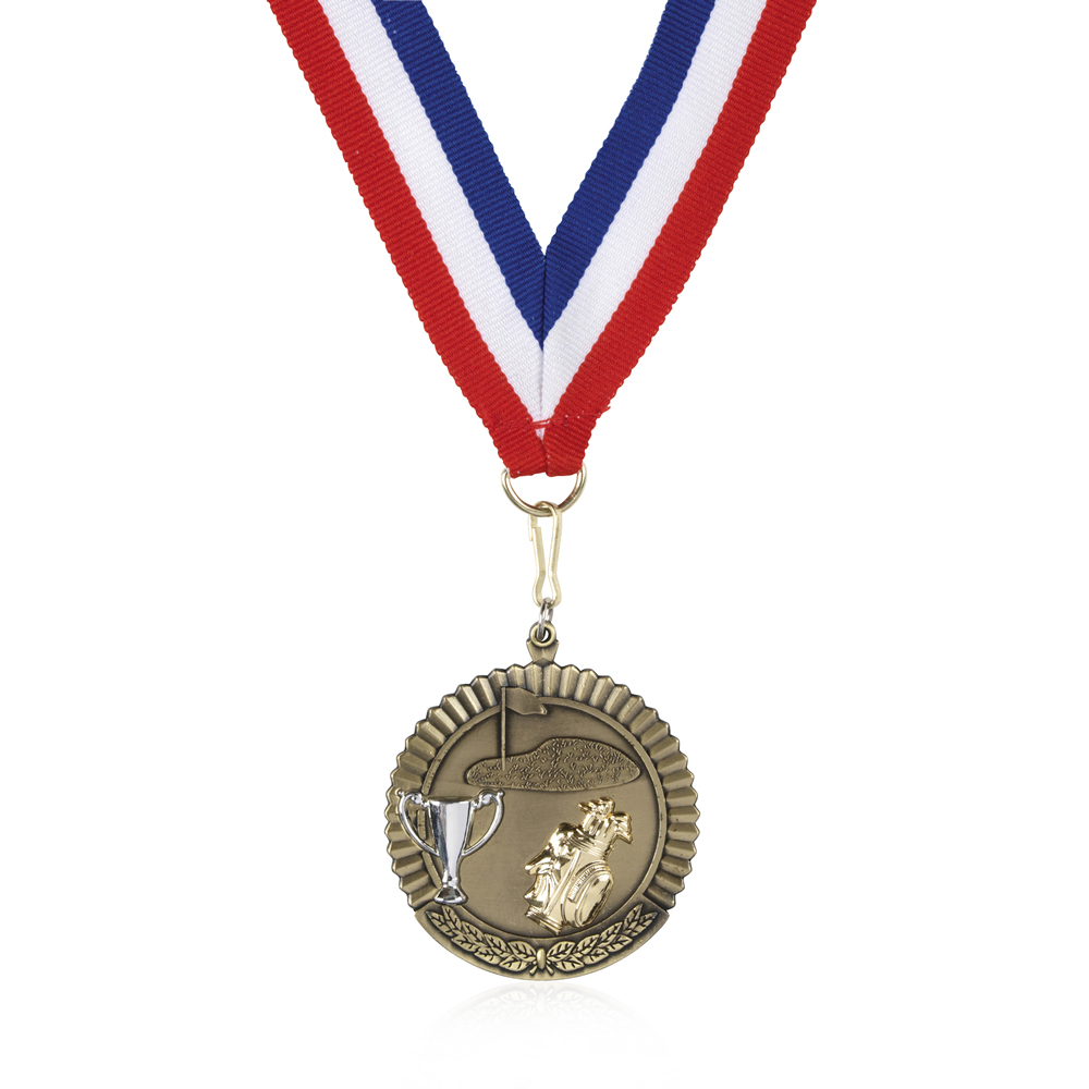 50mm Budget Golf Jaunlet Medal