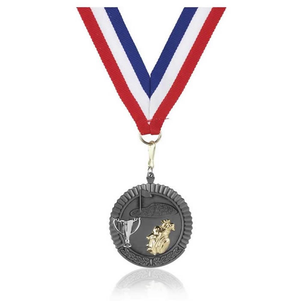 50mm Budget Golf Jaunlet Medal