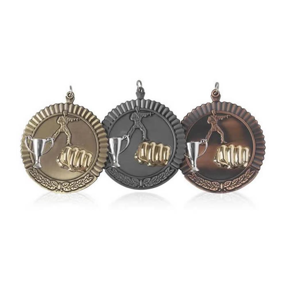 50mm Budget Martial Arts Jaunlet Medal