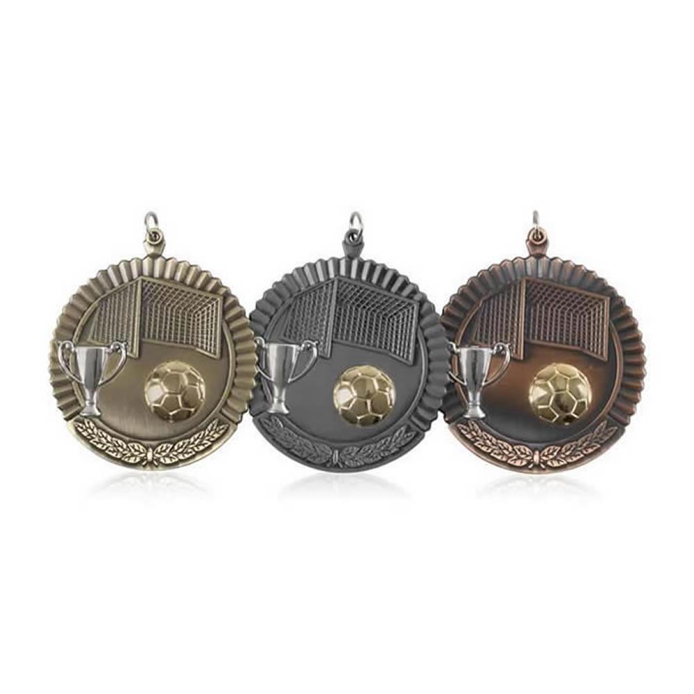 50mm Budget Football Jaunlet Medal
