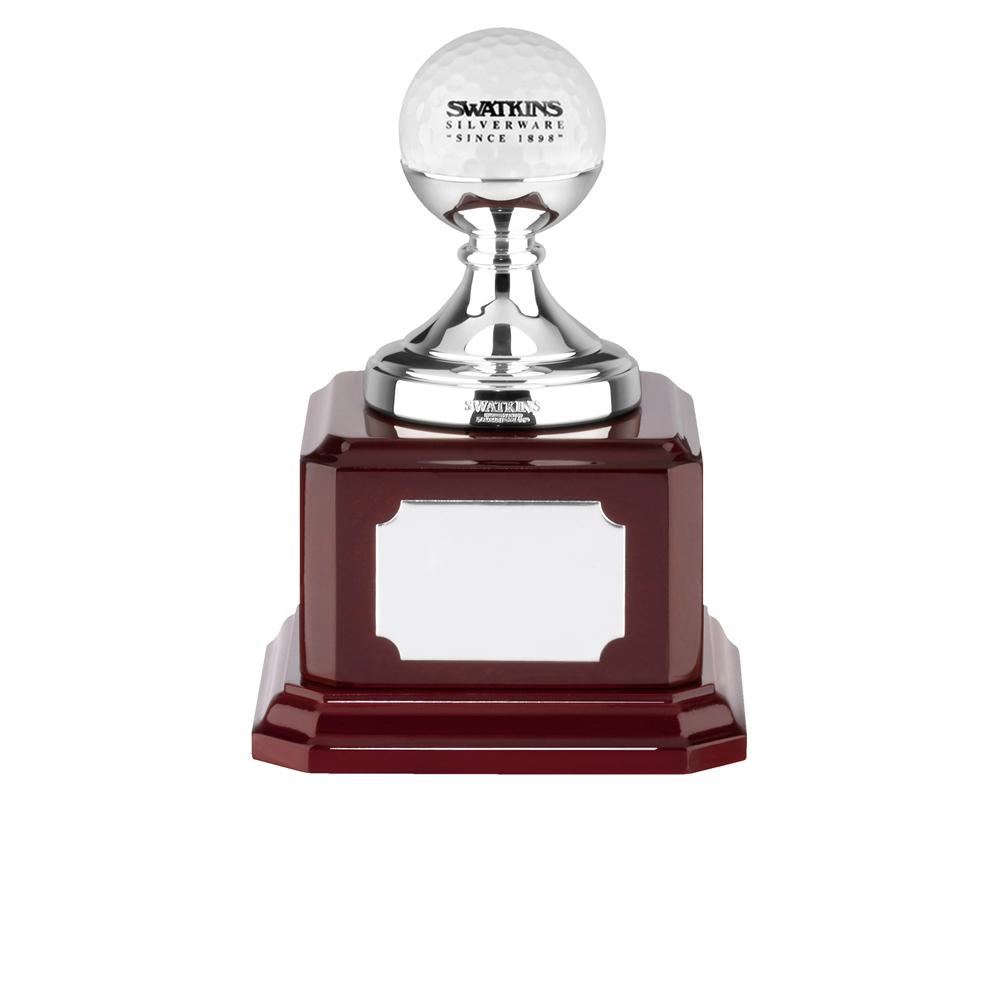5 Inch Golf Ball On Small Stem Golf Country Club Award