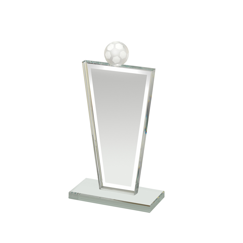 8 Inch Suspended Portrait Football Optics Award
