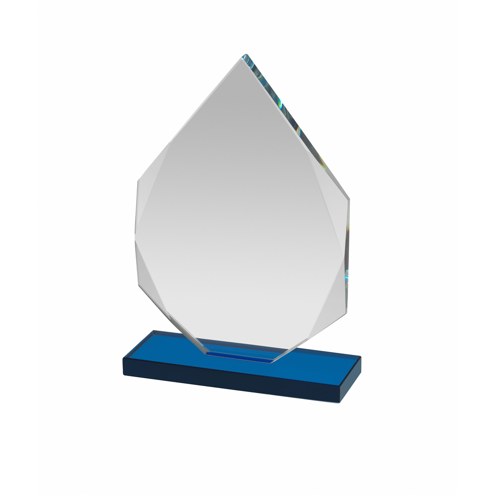 5 Inch Blue Based Flame Optics Award