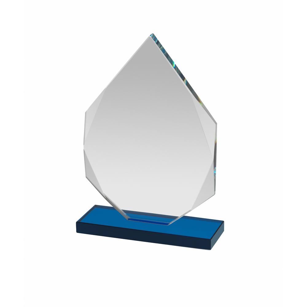6 Inch Blue Based Flame Optics Award