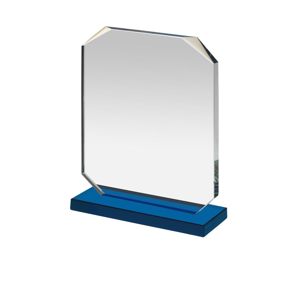 7 Inch Blue Based Square Optics Award