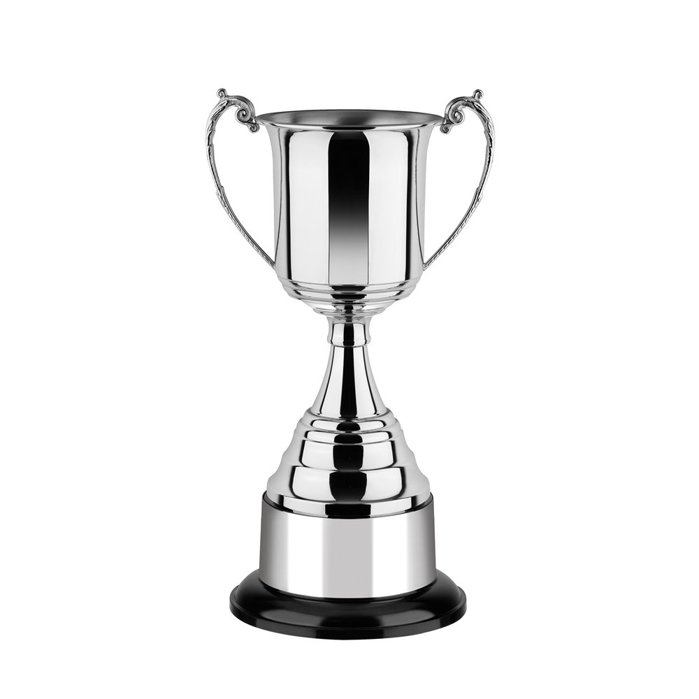 15 Inch Square Bowl & Round Base Revolution Trophy Cup